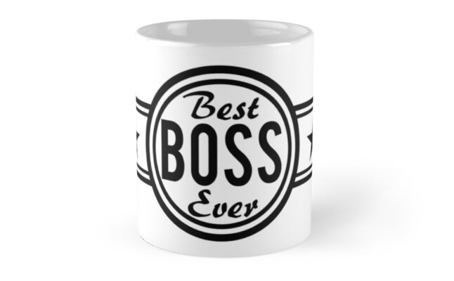 Best Boss Ever by RixzStuff