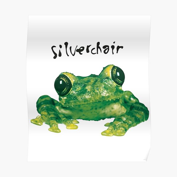 1995 RARE Silverchair - Frogstomp _95 Frog Double-Sided Concert Vintage T-Shirt Poster
