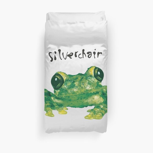 1995 RARE Silverchair - Frogstomp _95 Frog Double-Sided Concert Vintage T-Shirt Duvet Cover