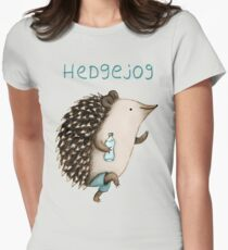 Hedgejog Womens Fitted T-Shirt