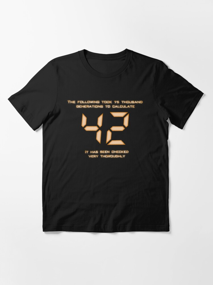Alternate view of 42: The Answer Essential T-Shirt