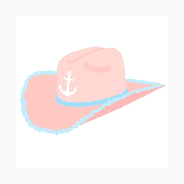 DeeGee Cowgirl Hat Photographic Print