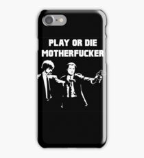 Lets play PULP FICTION iPhone Case/Skin
