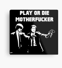 Lets play PULP FICTION Metal Print
