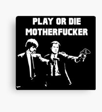 Lets play PULP FICTION Canvas Print