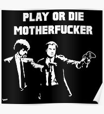 Lets play PULP FICTION Poster