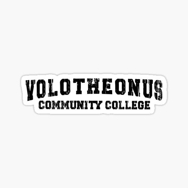 Volotheonus Community College  Sticker