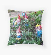 Garden Gnome VRS2 Throw Pillow