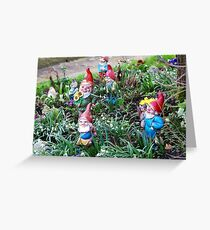 Garden Gnome VRS2 Greeting Card