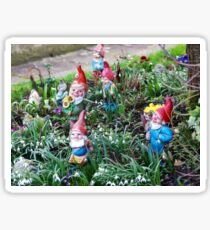 Garden Gnome VRS2 Sticker