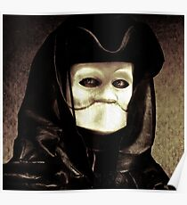 Spooky mask of Venetian tradition Poster