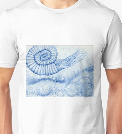 Devonian Blues - Ammonite T-Shirt