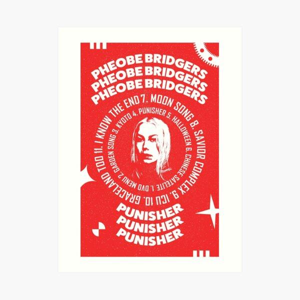 Phoebe Bridgers Punisher Impression artistique