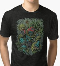Plants vs Zombies! Tri-blend T-Shirt