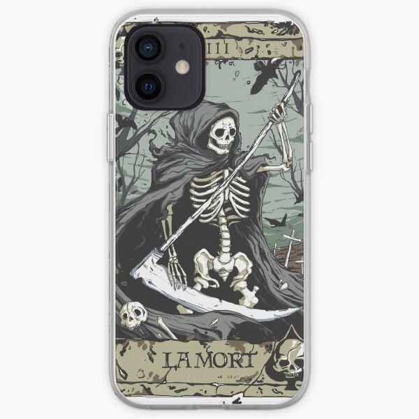 Death Card iPhone Soft Case