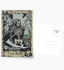 Death Card Postcards