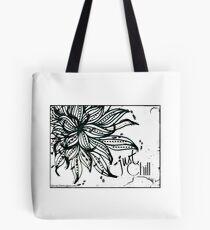 Rachel Doodle Art - Just Chill Tote Bag