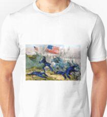 Capture of Roanoke Island - 1862 - Currier & Ives Unisex T-Shirt