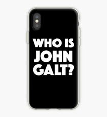 Wer ist John Galt? iPhone-Hülle & Cover