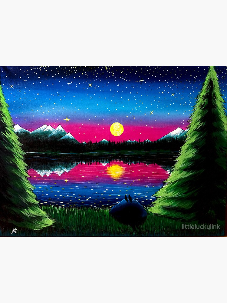 Summer's Final Moon by littleluckylink