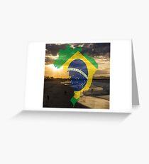 Brazil sea Greeting Card