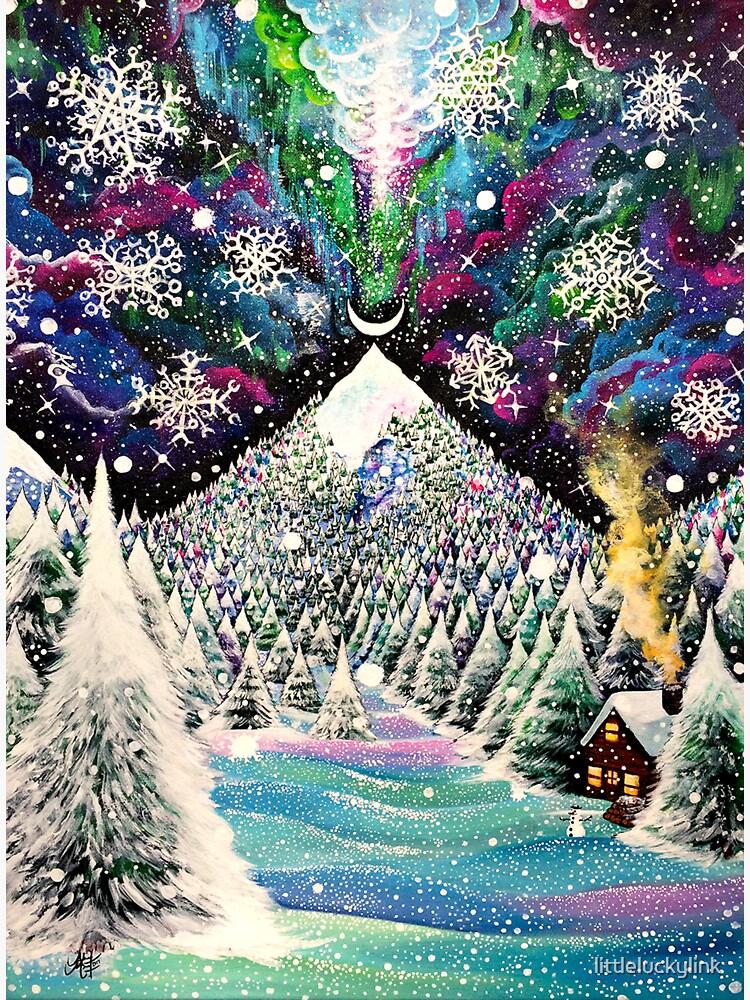 Backyard Glitter Peak by littleluckylink