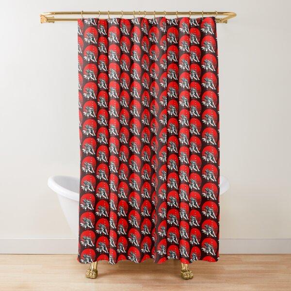 Samurai Tattoo Shower Curtain
