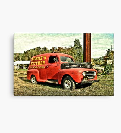 """Gettin' the Word Out""... prints and products Canvas Print"