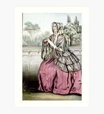 Caroline - 1848 - Currier & Ives Art Print