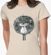 Sheepish Tee (large version) Women's Fitted T-Shirt
