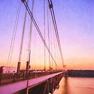 Sunset Bridge by Ray Warren