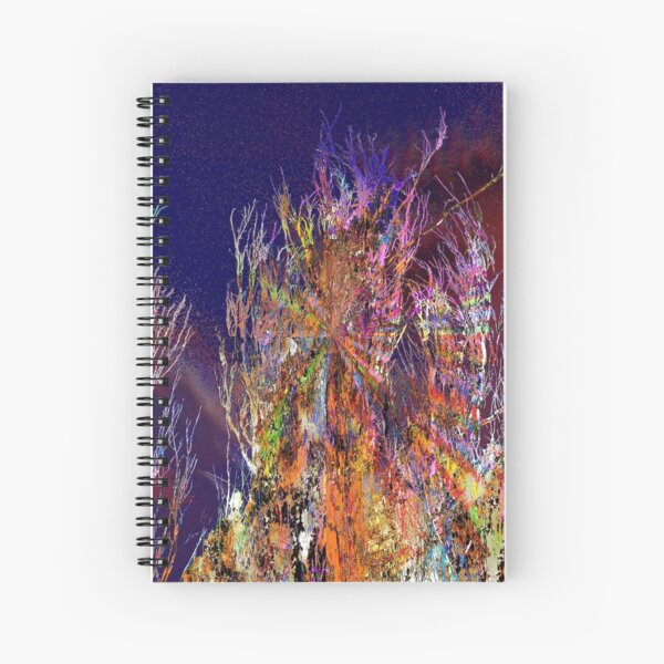 wiggling and whirring outback Spiral Notebook