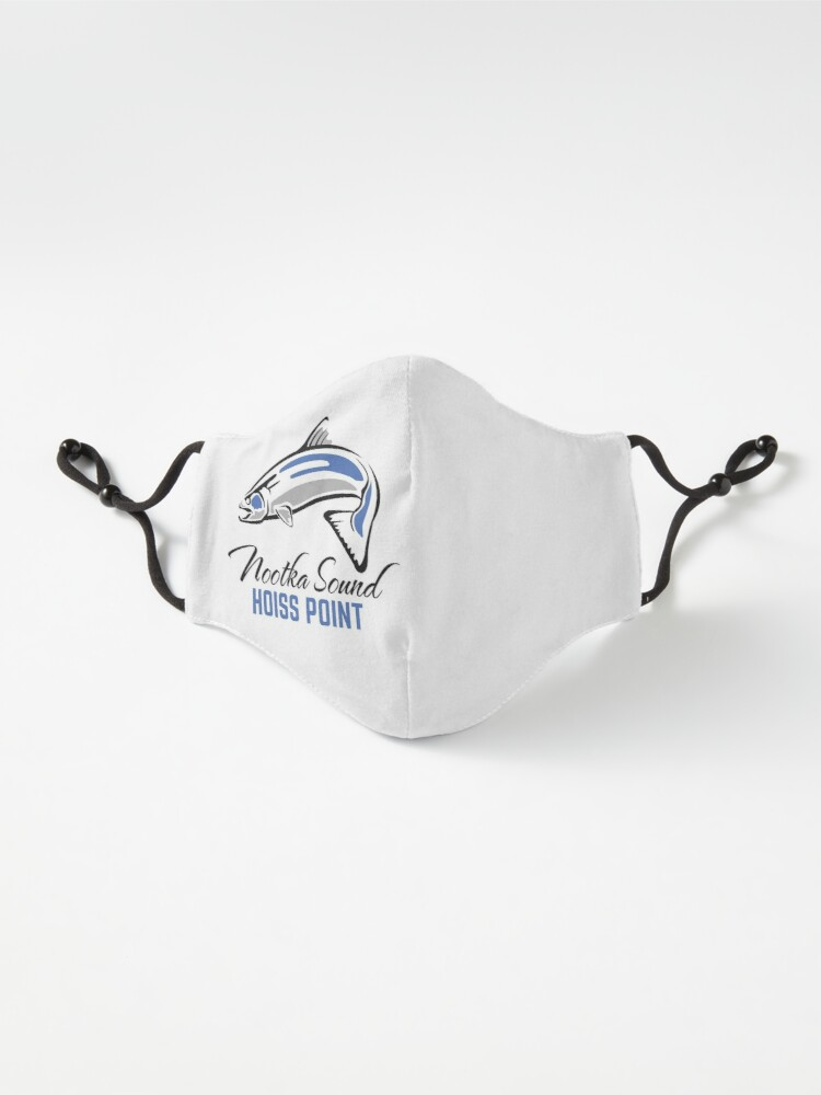 Alternate view of Hoiss Point - Nootka Sound - Salmon Logo Mask