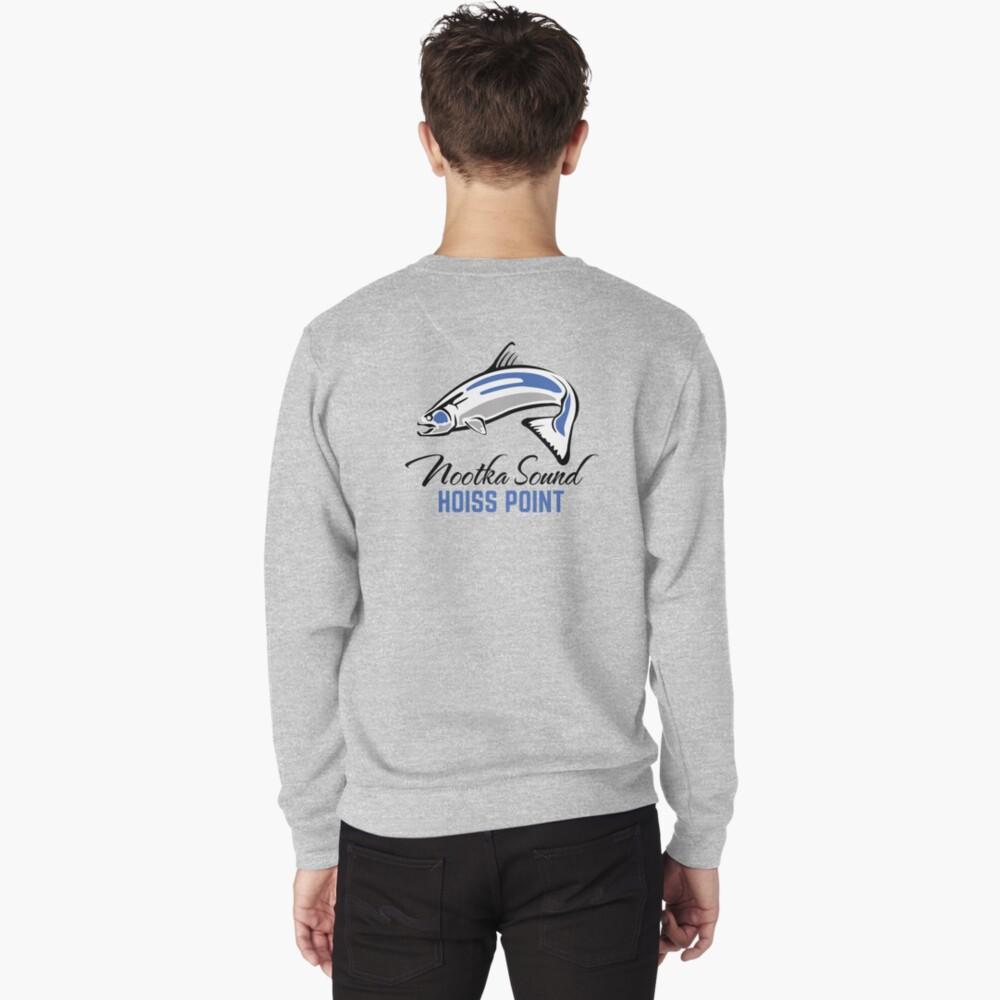Hoiss Point - Nootka Sound - Salmon Logo Pullover Sweatshirt