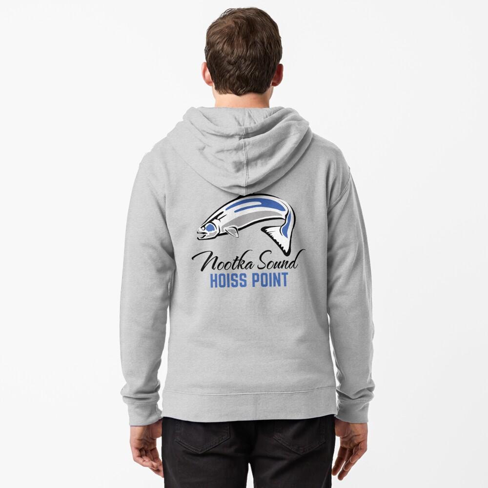 Hoiss Point - Nootka Sound - Salmon Logo Zipped Hoodie