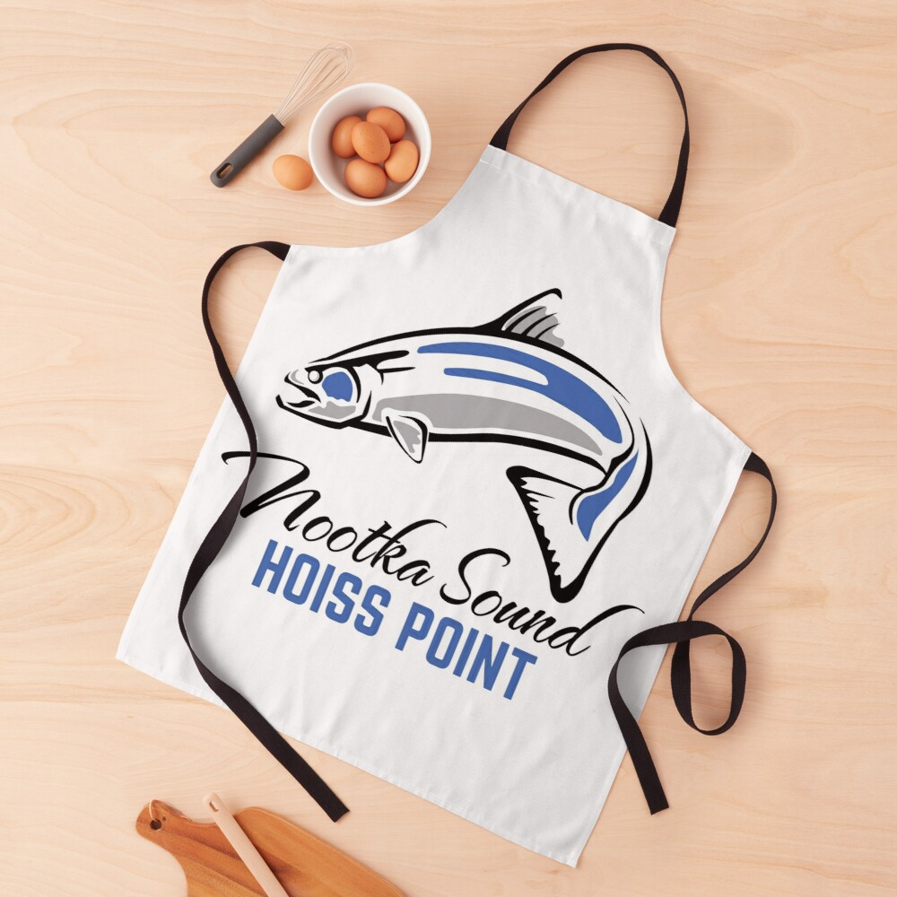 Hoiss Point - Nootka Sound - Salmon Logo Apron