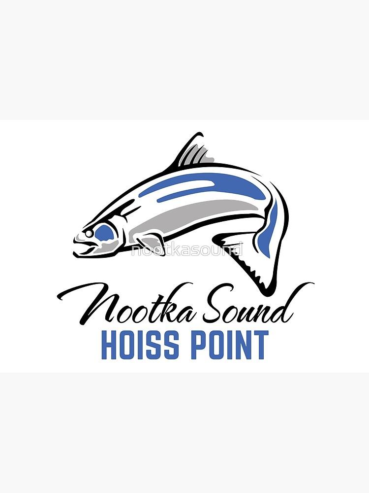 Hoiss Point - Nootka Sound - Salmon Logo by nootkasound