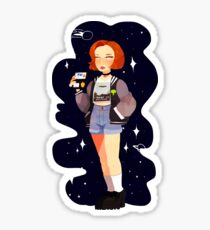 Super 90's Scully unlocked Sticker