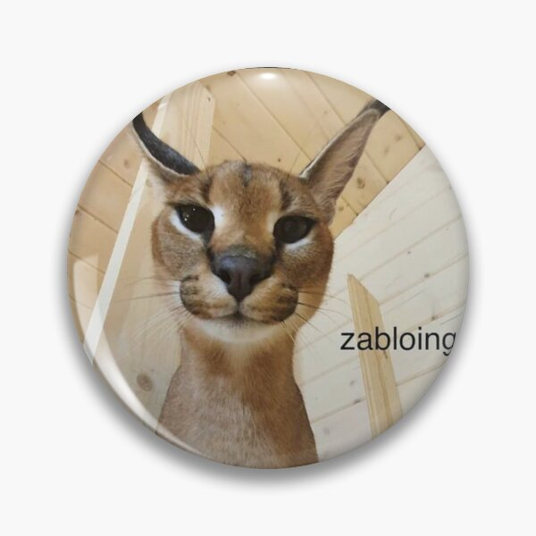 Zabloing Meme Badge