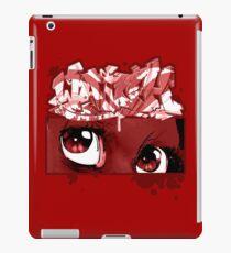 Graffiti WATCH (red) iPad Case/Skin
