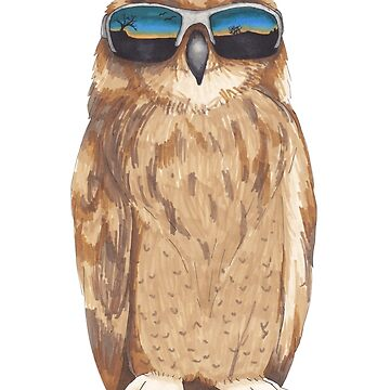 Shady Owl by Tabita