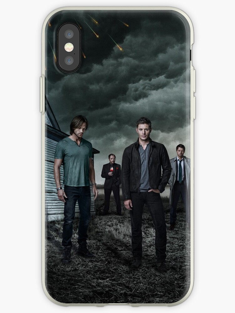 new concept 0d1cf 5517c 'supernatural s9 Promo Poster' iPhone Case by Maikeru Lara