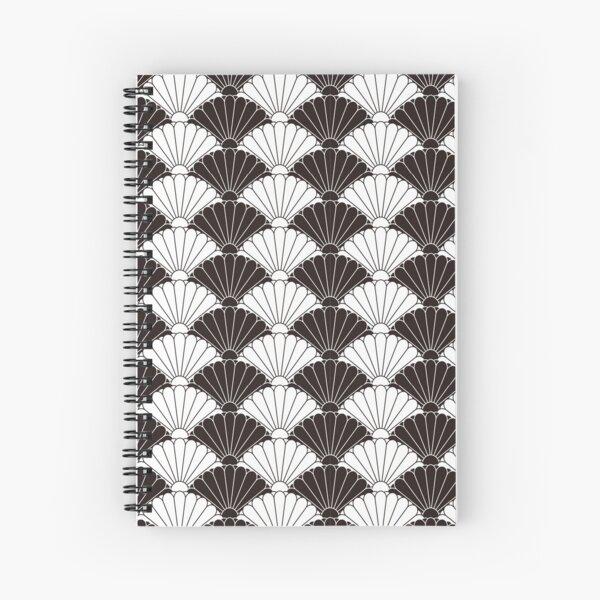Japanese traditional pattern: Kiku (Chrysanthemum) Spiral Notebook