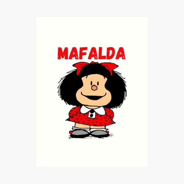 mafalda the world will adjust, mafalda triple Lámina artística