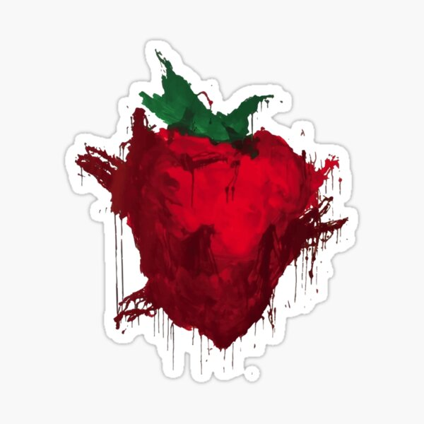 Across the Universe Strawberry Fields Forever Sticker