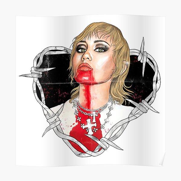 Miley Cyrus - Prisoner  Poster