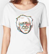 2016 Bernie Sanders 3D Glasses Women's Relaxed Fit T-Shirt