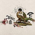 HOMBRES QUE CABALGAN CON DRAGONES (Men who ride with dragons) by Alvaro Sánchez