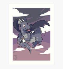 Mug Dragon Art Print