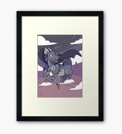 Mug Dragon Framed Print